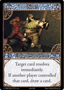 Epic Autres jeux de cartes 196 - Now! [Set 1 - Cartes Epic]