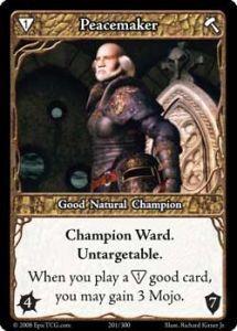 Epic Autres jeux de cartes 201 - Peacemaker [Set 1 - Cartes Epic]