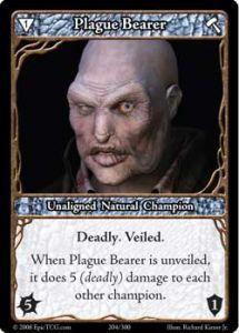 Epic Autres jeux de cartes 204 - Plague Bearer [Set 1 - Cartes Epic]