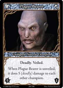 Epic Autres jeux de cartes 204 - Plague Bearer [Set 1 - Cartes Epic]