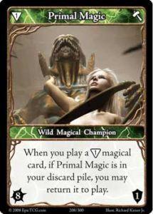 Epic Autres jeux de cartes 208 - Primal Magic [Set 1 - Cartes Epic]
