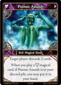 Epic Autres jeux de cartes 210 - Psionic Assault [Set 1 - Cartes Epic]