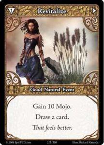 Epic Autres jeux de cartes 225 - Revitalize [Set 1 - Cartes Epic]