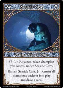 Epic Autres jeux de cartes 234 - Seaside Cave [set 1 - Cartes Epic]