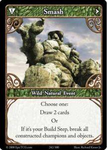 Epic Autres jeux de cartes 242 - Smash [Set 1 - Cartes Epic]