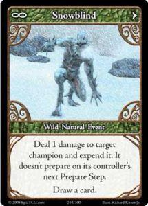 Epic Autres jeux de cartes 244 - Snowblind [Set 1 - Cartes Epic]
