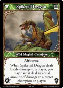 Epic Autres jeux de cartes 248 - Spiketail Dragon [Set 1 - Cartes Epic]