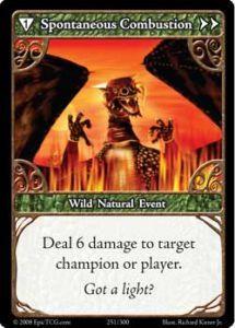 Epic Autres jeux de cartes 251 - Spontaneous Combustion [Set 1 - Cartes Epic]
