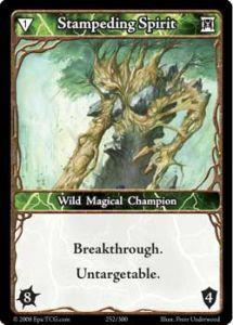 Epic Autres jeux de cartes 252 - Stampeding Spirit [Set 1 - Cartes Epic]