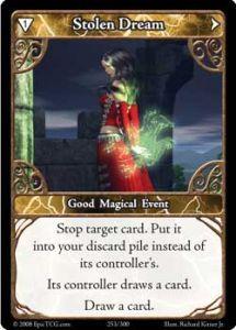 Epic Autres jeux de cartes 253 - Stolen Dream [Set 1 - Cartes Epic]