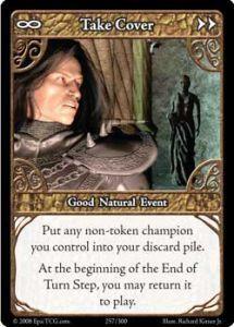 Epic Autres jeux de cartes 257 - Take Cover [Set 1 - Cartes Epic]