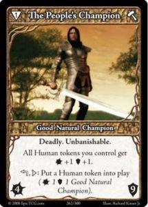Epic Autres jeux de cartes 262 - The People's Champion [Set 1 - Cartes Epic]