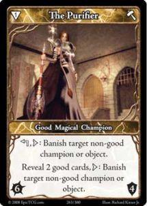 Epic Autres jeux de cartes 263 - The Purifier [Set 1 - Cartes Epic]