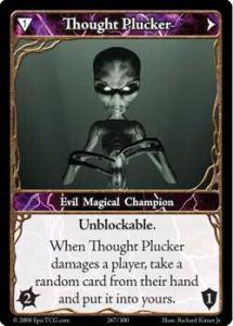 Epic Autres jeux de cartes 267 - Thought Plucker [Set 1 - Cartes Epic]