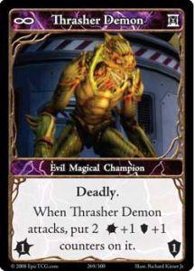 Epic Autres jeux de cartes 269 - Thrasher Demon [Set 1 - Cartes Epic]