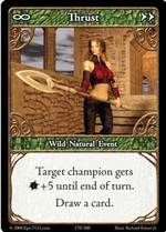 Epic Autres jeux de cartes 270 - Thrust [Set 1 - Cartes Epic]