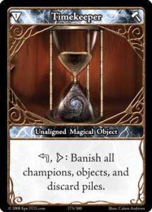 Epic Autres jeux de cartes 273 - Timekeeper [Set 1 - Cartes Epic]