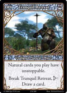 Epic Autres jeux de cartes 278 - Tranquil Retreat [Set 1 - Cartes Epic]