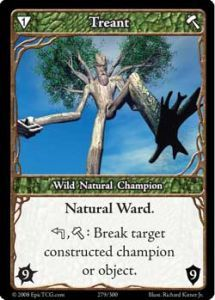 Epic Autres jeux de cartes 279 - Treant [Set 1 - Cartes Epic]