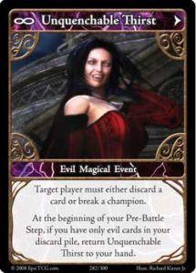 Epic Autres jeux de cartes 282 - Unquenchable Thirst [Set 1 - Cartes Epic]