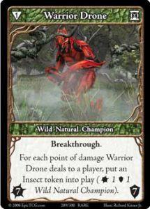 Epic Autres jeux de cartes 289 - Warrior Drone [Set 1 - Cartes Epic]