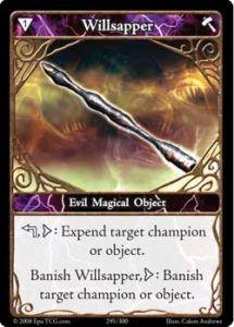 Epic 295 - Willsapper [Set 1 - Cartes Epic]
