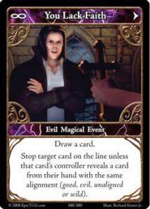 Epic Autres jeux de cartes 300 - You Lack Faith [Set 1 - Cartes Epic]