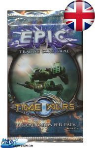 Epic Autres jeux de cartes Booster EPIC - Time Wars - (EN ANGLAIS)
