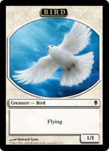 Tokens Magic Magic the Gathering Token/Jeton - Zendikar - Oiseau