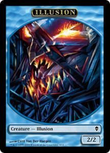 Token Magic Token/Jeton - Zendikar - Illusion