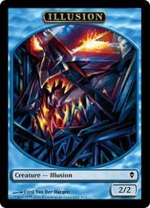 Tokens Magic Token/Jeton - Zendikar - Illusion