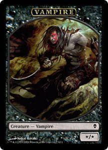Tokens Magic Accessoires Pour Cartes Token/Jeton - Zendikar - Vampire