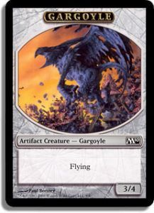 Tokens Magic Magic the Gathering Token/Jeton - Magic 2010 - 08/08 Gargouille