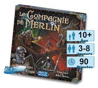 Thème : Médiéval Les Chevaliers de la table Ronde - La Compagnie de Merlin