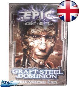 Epic Autres jeux de cartes Deck Préconstruit - Epic - Grafted Steel Dominion - (en Anglais)