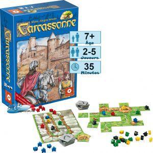 Carcassonne Jeux de Plateau Carcassonne 1 - Jeu De Base