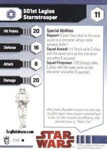 Star Wars Miniatures - Dark Times 17 - 501st Legion Stormtrooper [Star Wars Miniatures - Dark Times]