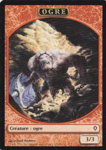 Token Magic Magic the Gathering Token/Jeton - Worldwake - Ogre