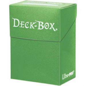 Boites de Rangements Accessoires Pour Cartes Deck Box Ultra Pro Polydeck - Vert clair