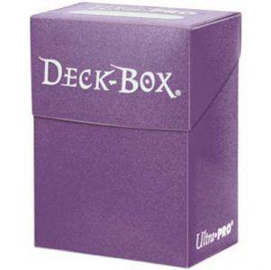 Boites de Rangements Accessoires Pour Cartes Deck Box Ultra Pro Polydeck - Violet