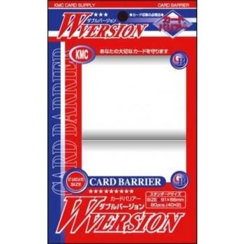 Protèges Cartes Accessoires Pour Cartes 80 pochettes - W Version - Clear
