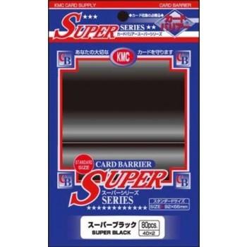 Protèges Cartes  80 pochettes - Super Series - Black
