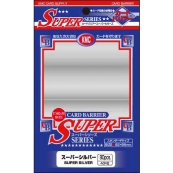 Protèges Cartes 80 pochettes - Super Series - Pearl White