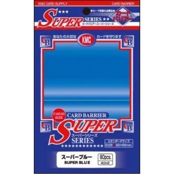 Protèges Cartes Accessoires Pour Cartes 80 pochettes KMC - Super Blue (bleu) - ACC