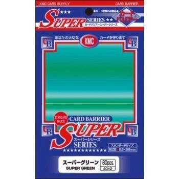 Protèges Cartes Accessoires Pour Cartes 80 pochettes KMC - Super Green (vert) - ACC