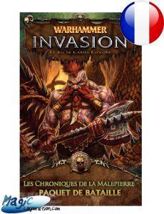 Warhammer Invasion Cycle de la Corruption - Les Chroniques de la Malepierre