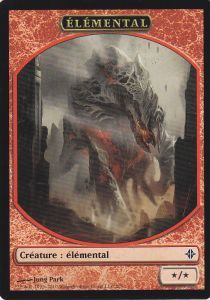 Tokens Magic Magic the Gathering Token/Jeton - Eldrazi - Elemental