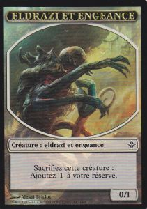 Tokens Magic Magic the Gathering Token/Jeton - Eldrazi - Eldrazi et Engeance A