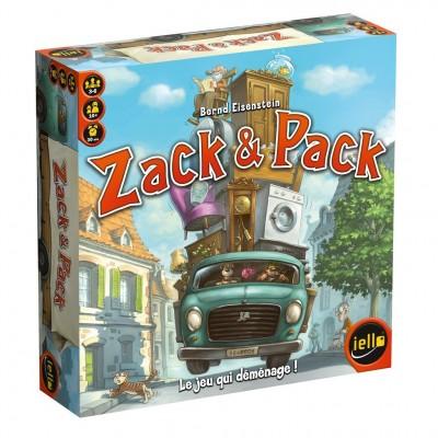 Thème : Véhicules Jeux de Plateau Zack & Pack