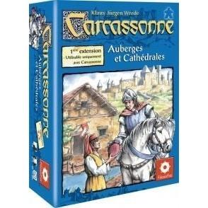Carcassonne Jeux de Plateau Carcassonne 3 - Auberges Et Cathédrales